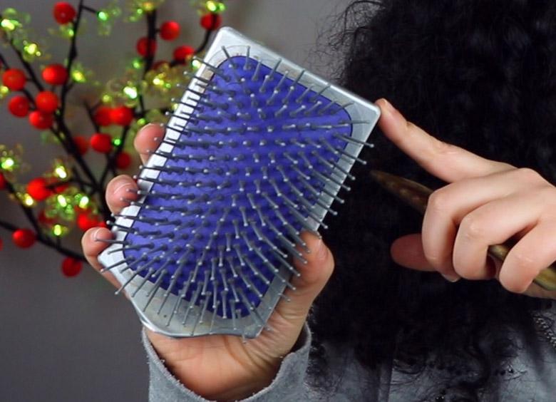 Escova Raquete é boa para os cabelos?