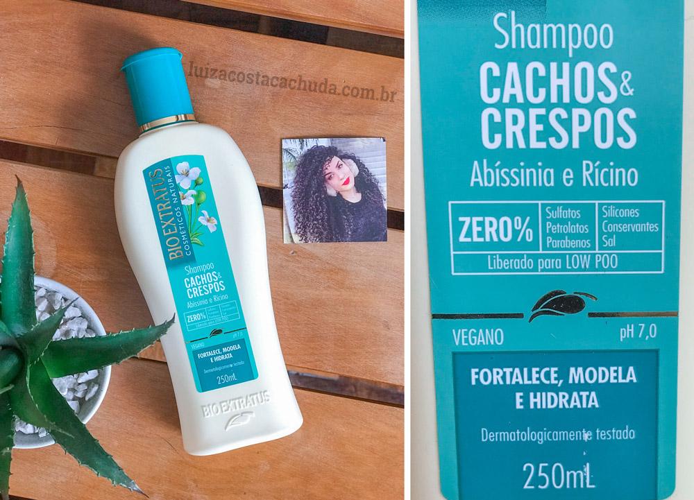 Shampoo Bio Extratus Cachos & Crespos