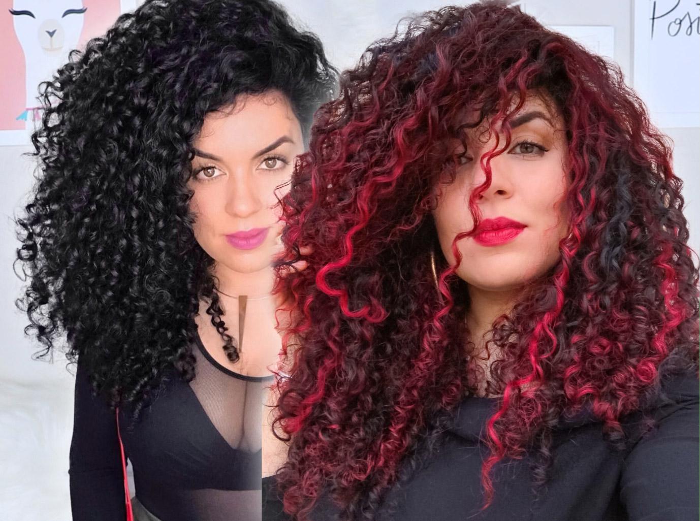 Perguntas sobre cabelo ruivo com fundo preto