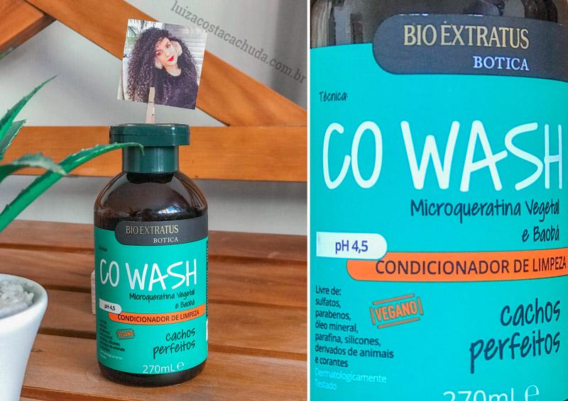 Condicionador Co-Wash Bio Extratus Botica Cachos Perfeitos