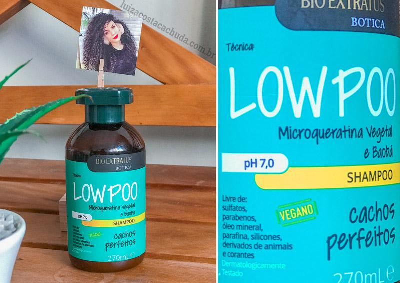Shampoo Bio Extratus Botica Cachos Perfeitos