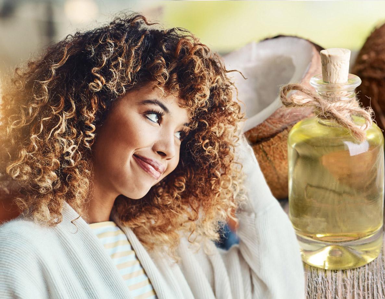 Como usar óleo de coco no cabelo