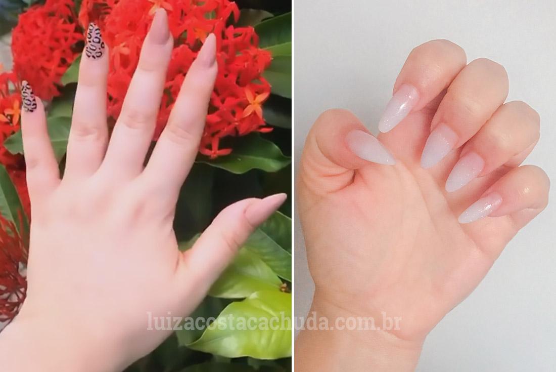 como retirar alongamento de unhas em casa