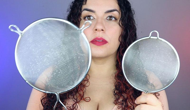 Como secar o cabelo com a peneira - escolha a peneira
