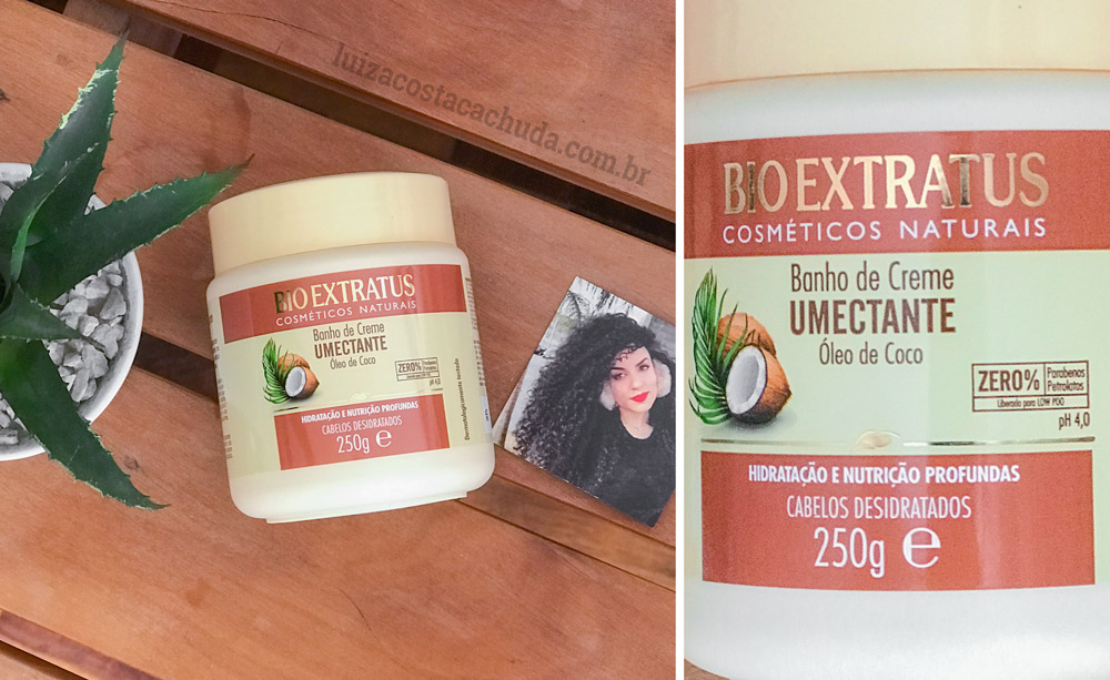 resenha Banho de Creme Bio Extratus Umectante Óleo de Coco