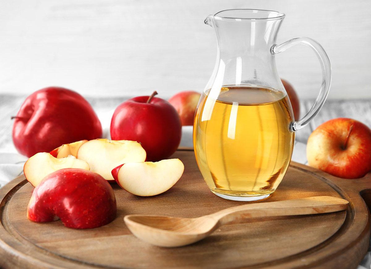 benefícios do vinagre de maçã para a pele