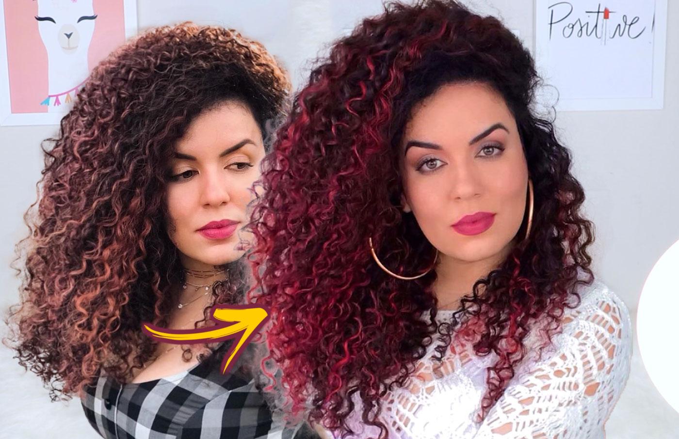 como fazer a cor pegar melhor ao matizar o cabelo com creme