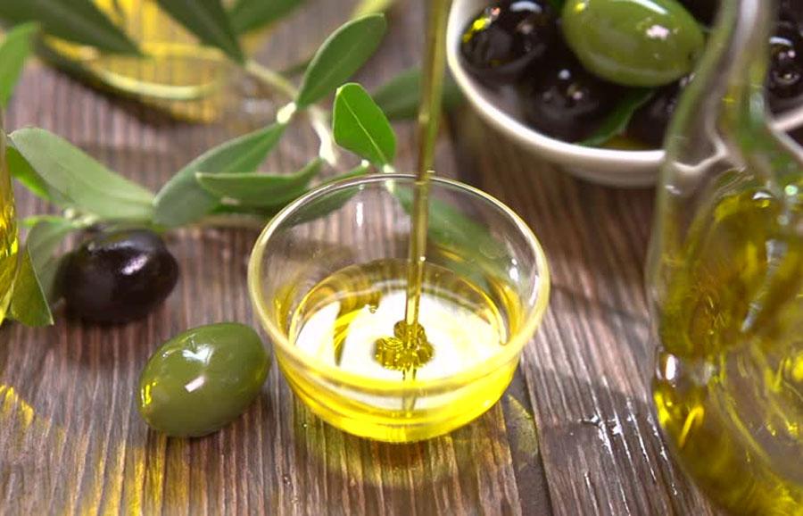 umectação caseira com azeite de oliva