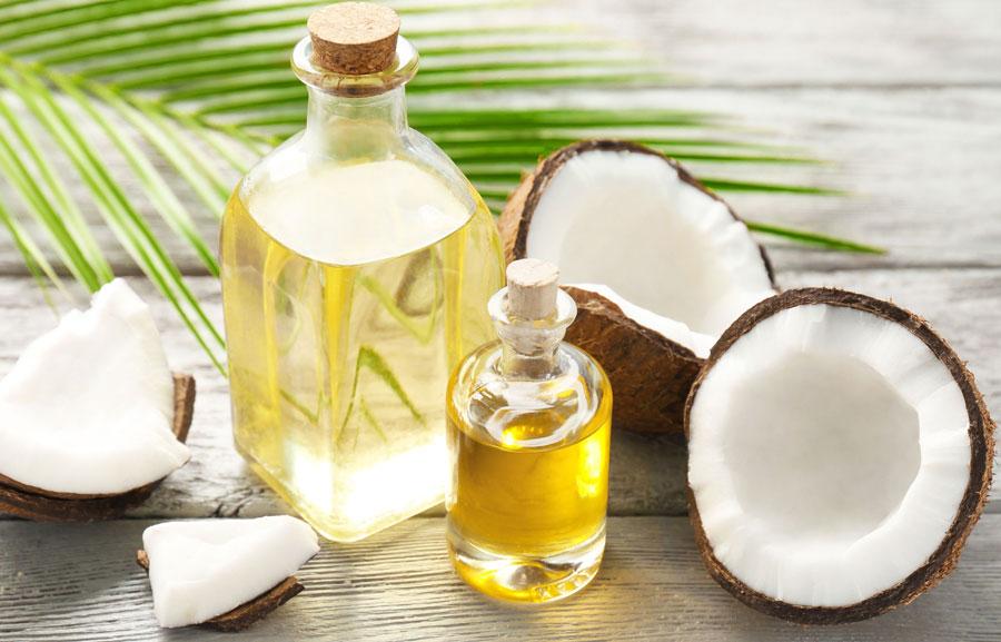 umectação caseira com óleo de coco