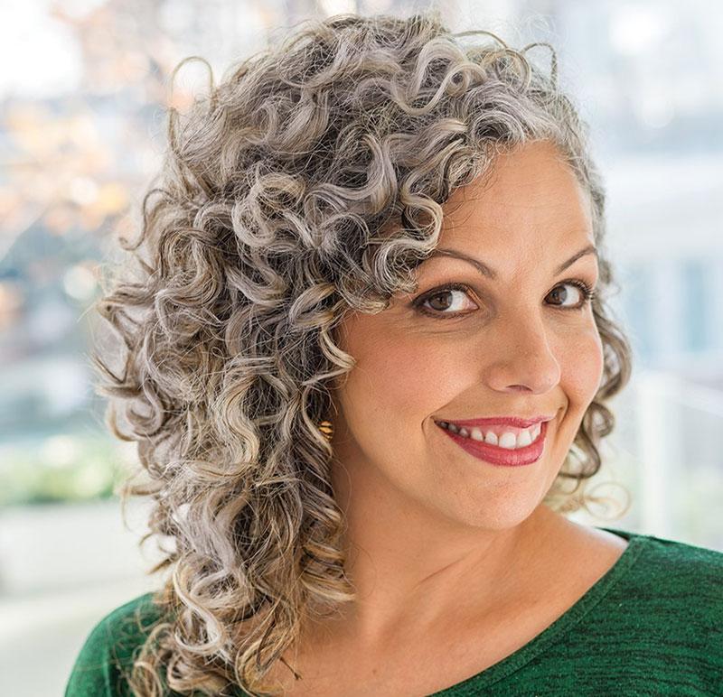 como cuidar do cabelo grisalho