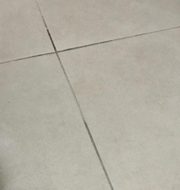 como tirar mancha de tinta de cabelo do chão - depois