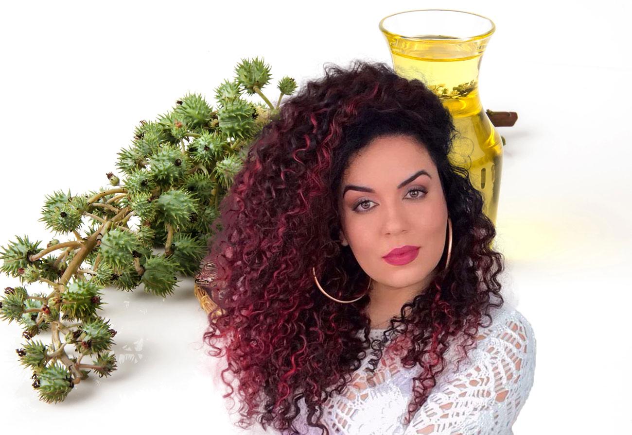 como usar óleo de rícino no cabelo