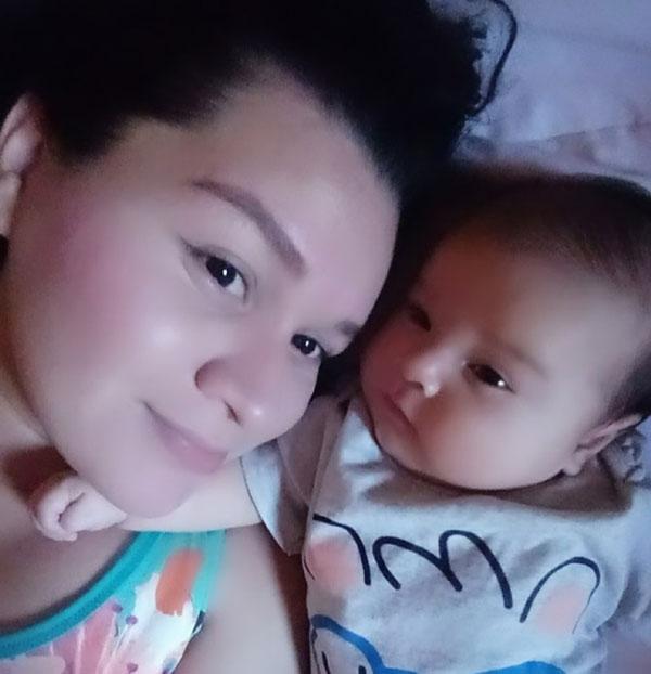 como fazer o bebê dormir a noite toda - noelle loyanna e seu bebê