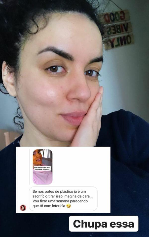máscara de açafrão para a pele - resultados