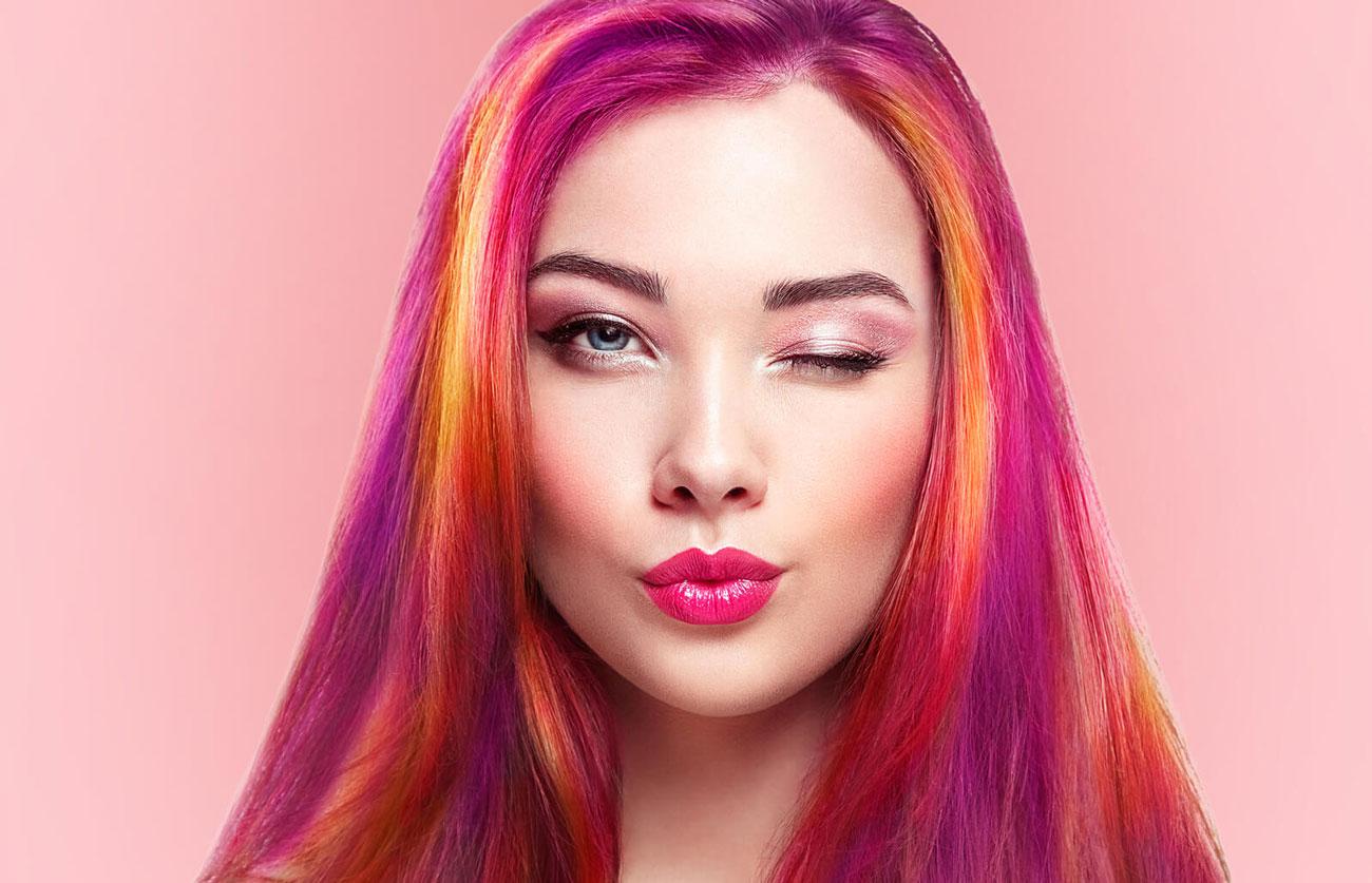 motivos para ter o cabelo colorido