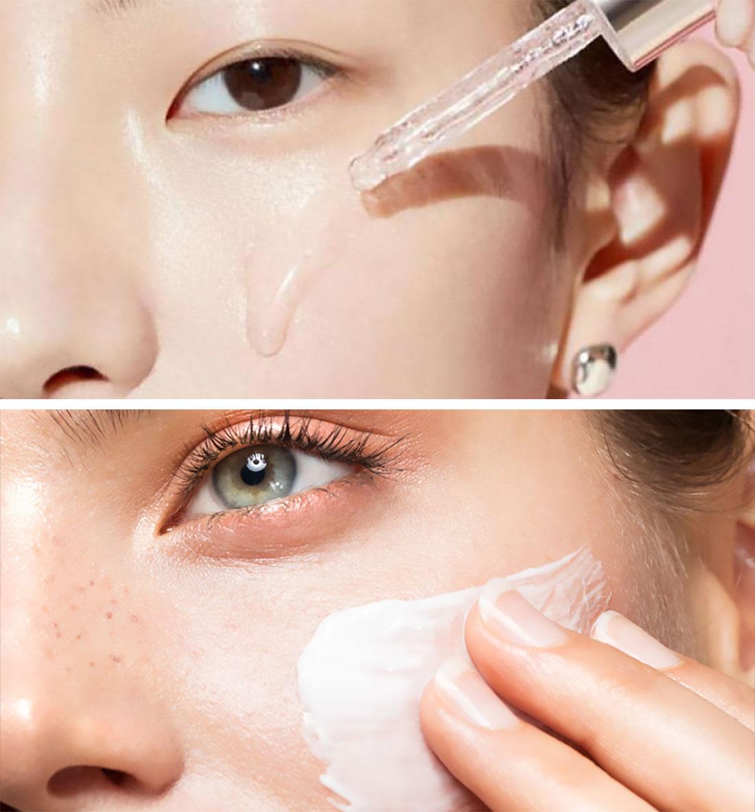 qual a diferença entre sérum e creme hidratante para a pele