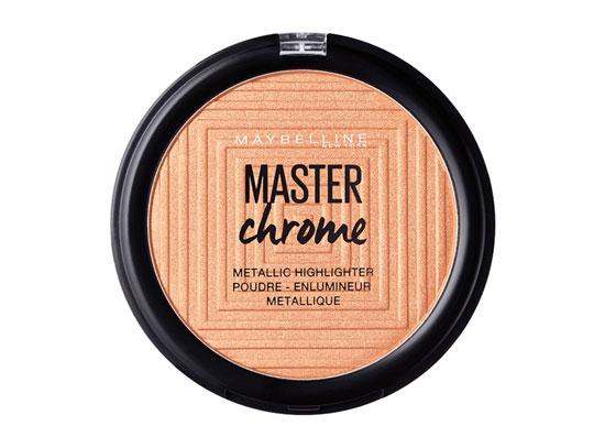 iluminador master chrome maybelline