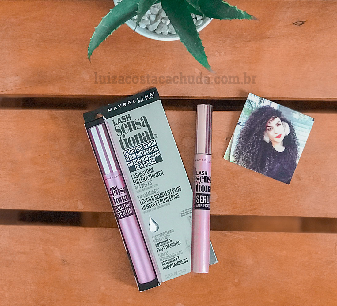 resenha maybelline lash sensational boosting serum