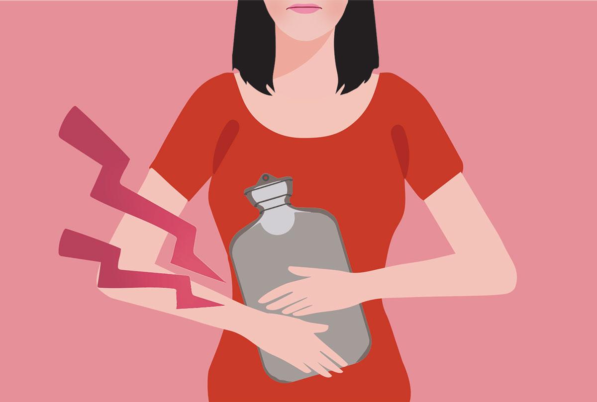 coletor menstrual causa dor e cólicas
