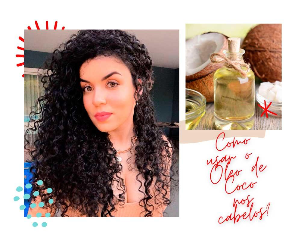 Como usar óleo de coco no cabelo?