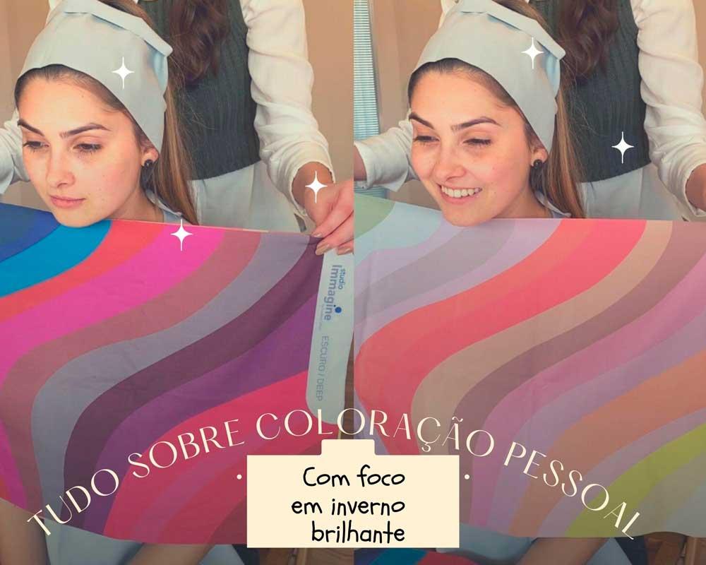 Tudo sobre coloração pessoal com foco em inverno brilhante, com Amanda Valoto